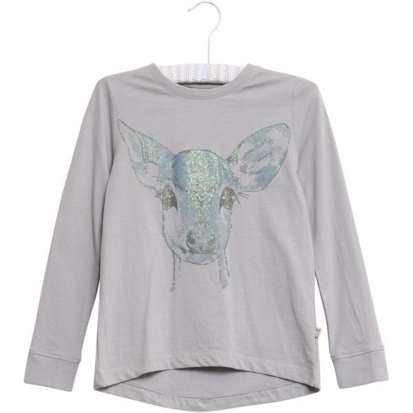 Langarmshirt Reh, dusty dove