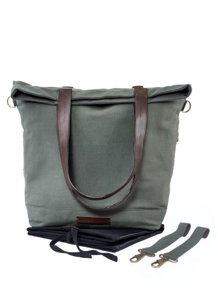 Wickeltasche little wanderer, olive
