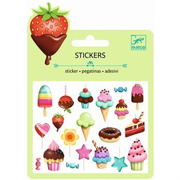 Mini Craft Pack 3D Kinder Sticker Set SWEET