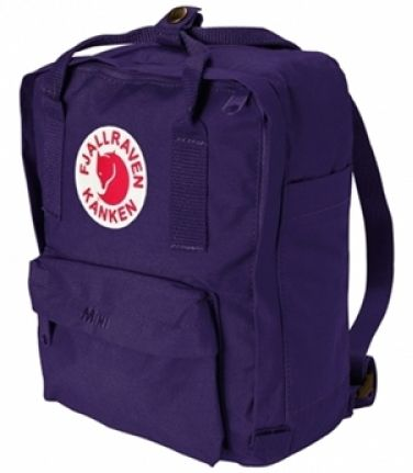 Kanken Mini Kinderrucksack, Purple
