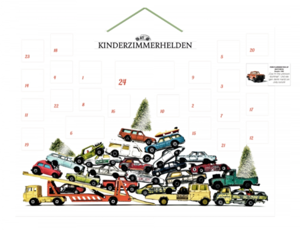 Adventskalender 'Kinderzimmerhelden'