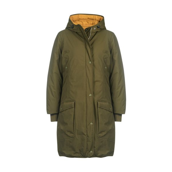 Damen Winter Wendejacke Smilla, capers/harvest gold