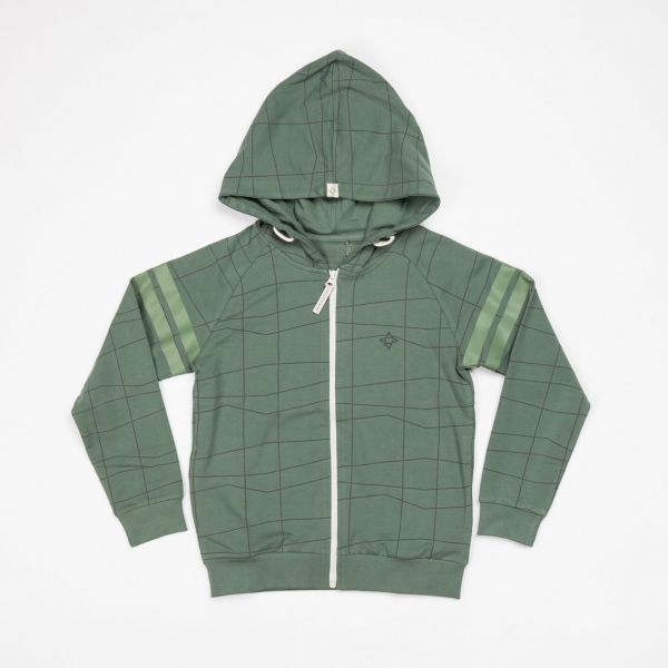 Sweatjacke Robert, duck green
