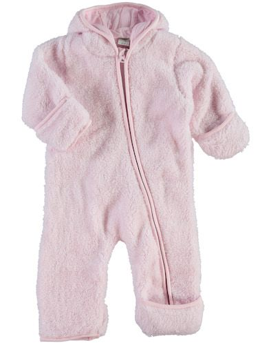 BABY NEW BORN Outdoor Overall NITLEDDY, rosa