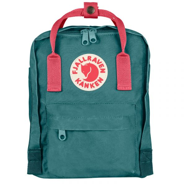 Kanken Mini Kinderrucksack, frost green-peach pink
