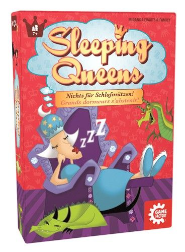 Kartenspiel 'Sleeping Queen'