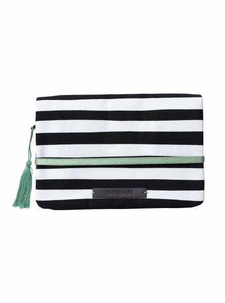 Windeltasche Clutch modern hippie