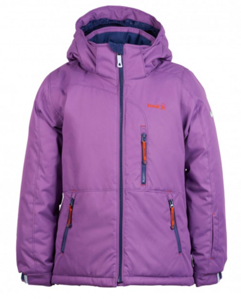 Mädchen Winterjacke Aria Solid, grape
