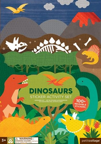 Sticker Activity Set Dinosaurier