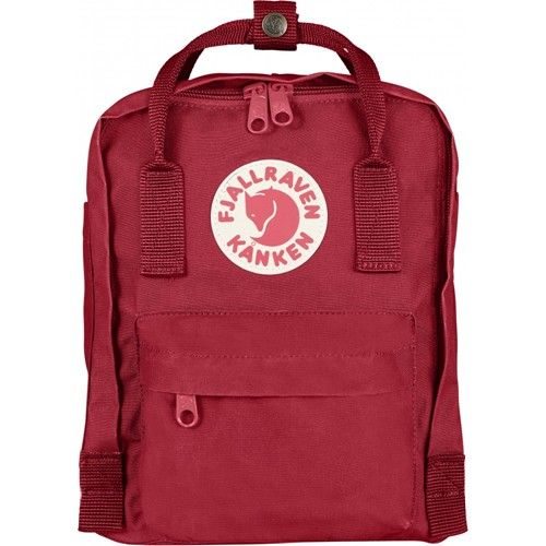 Kanken Mini Kinderrucksack, Deep Red