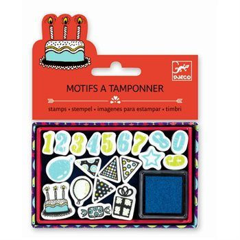 Mini Craft Pack: Kinder Stempelset GEBURTSTAG