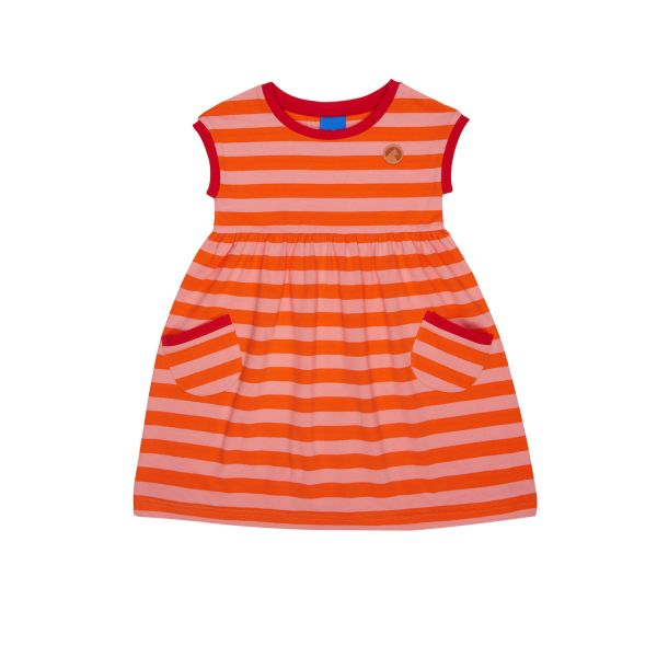 Kleid Lilli, carrot/coral almond
