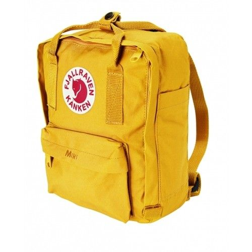Kanken Mini Kinderrucksack, warm yellow