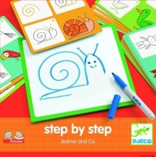 Eduludo Ausmalbilder Step by Step Tiere & Co