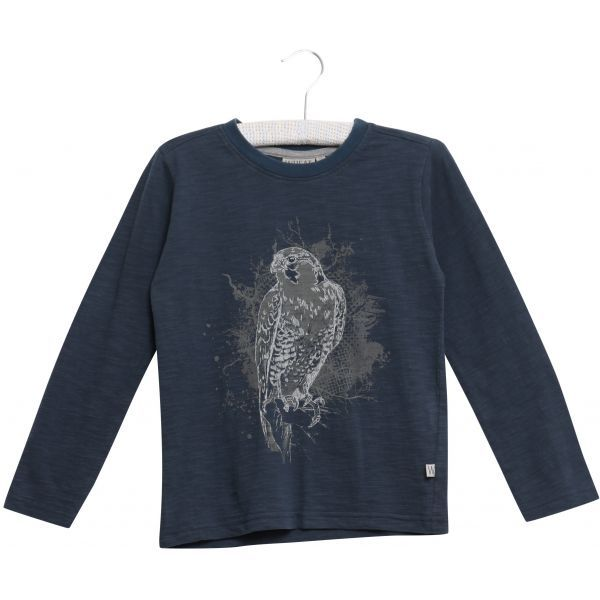 Langarmshirt 'Adler', midnight navy