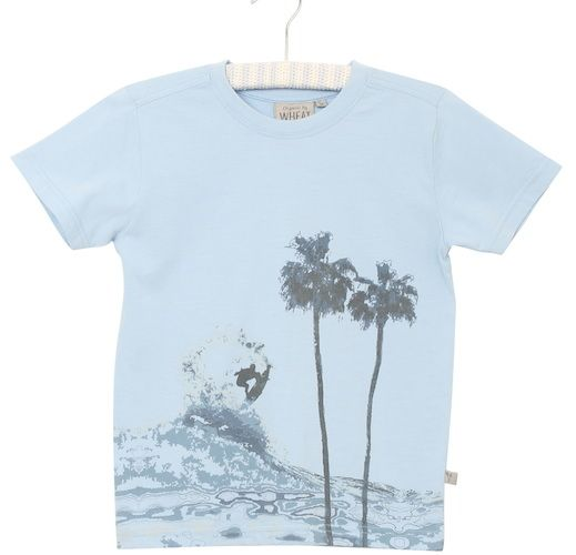 Kinder T-Shirt SURF, dove