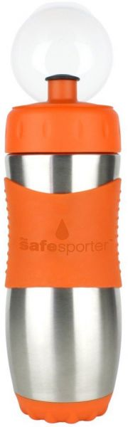 Kinder Trinkflasche Safe Sporter, 475 ml, orange